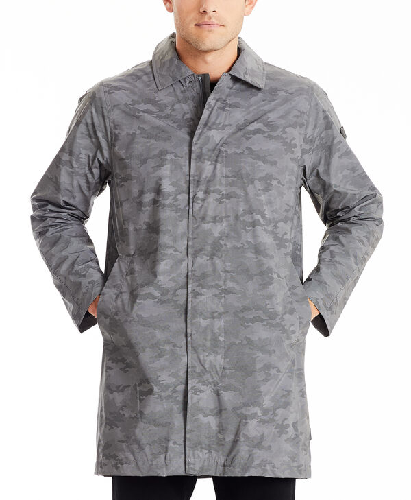 TUMIPAX Outerwear Men's Reflective Rain Coat XXL