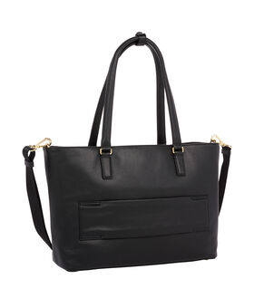 Monika Leather Tote Voyageur
