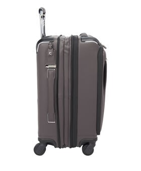 Bagage à main extensible en cuir Gatwick International Arrivé