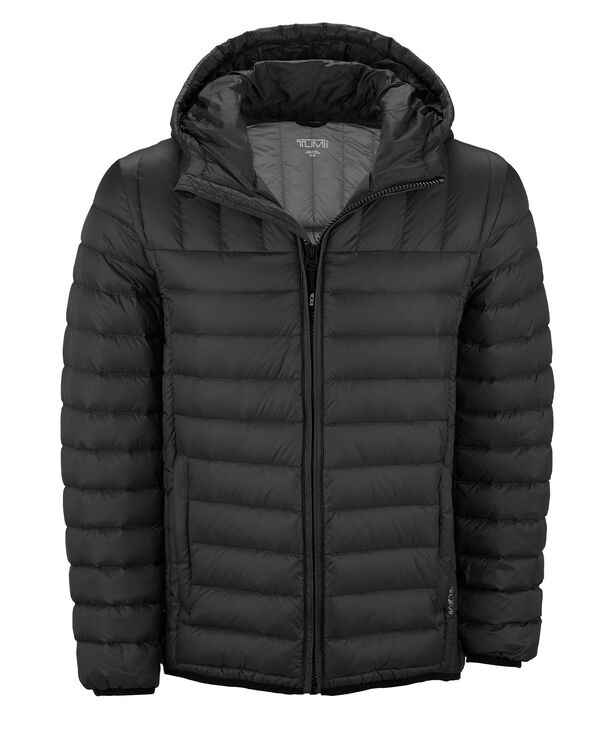TUMIPAX Outerwear Crossover Hooded Jacket S